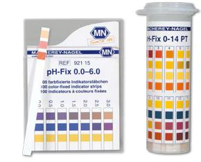Universal paper pH Fix