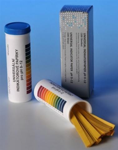 Universal paper pH 0-12