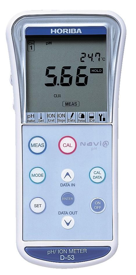 pH/OPR/ISE meter D-53