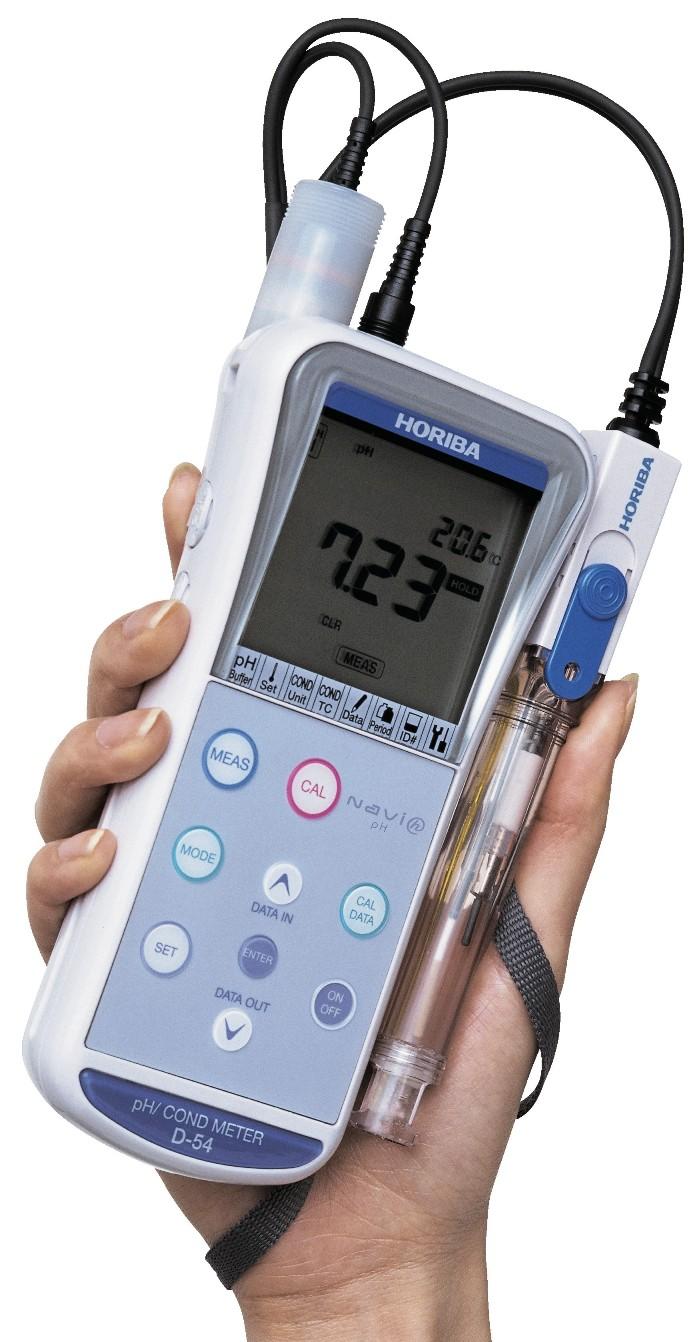 pH/conductivity meter D-54