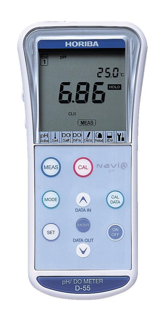 pH/DO meter D-55